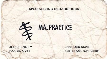 GG Allin Malpractice Love Tunnel