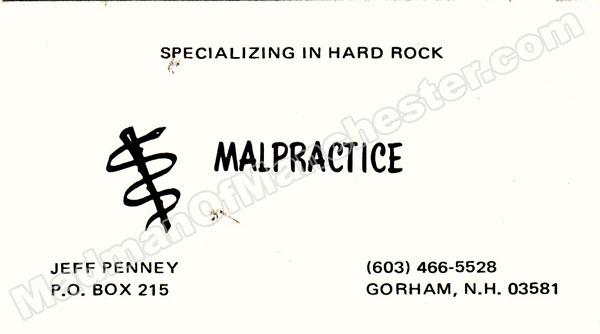 Malpractice press kit