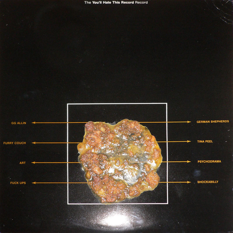 GG Allin You'll Hate This Record