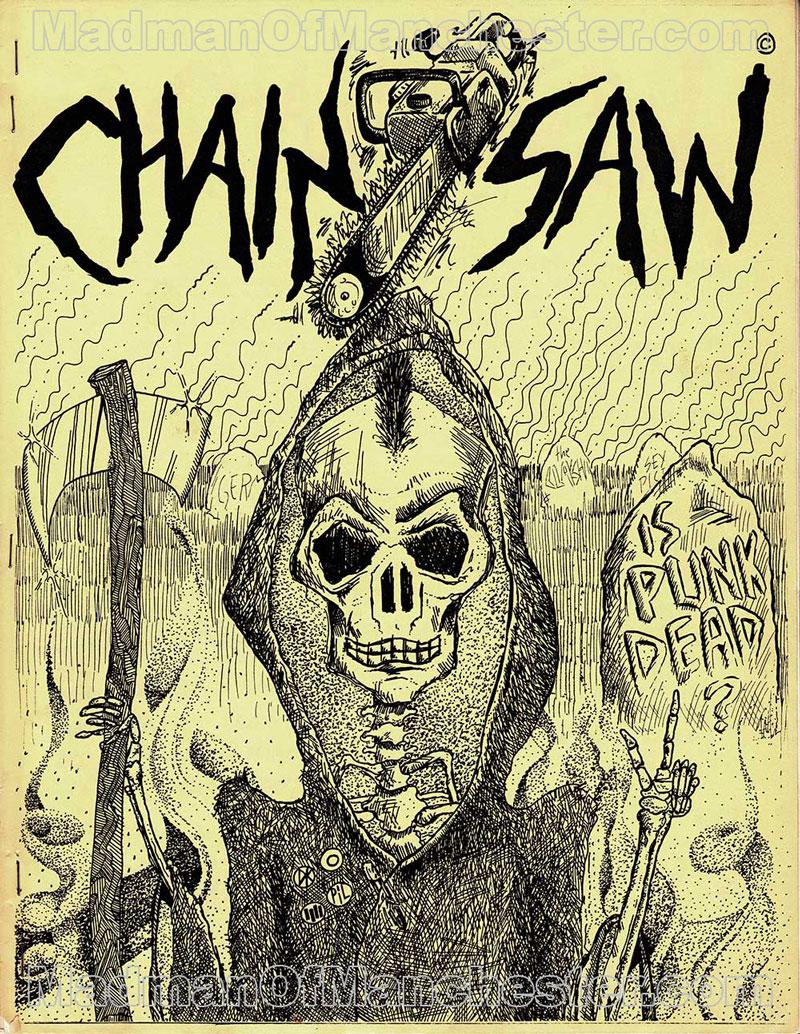 GG Allin Chainsaw magazine