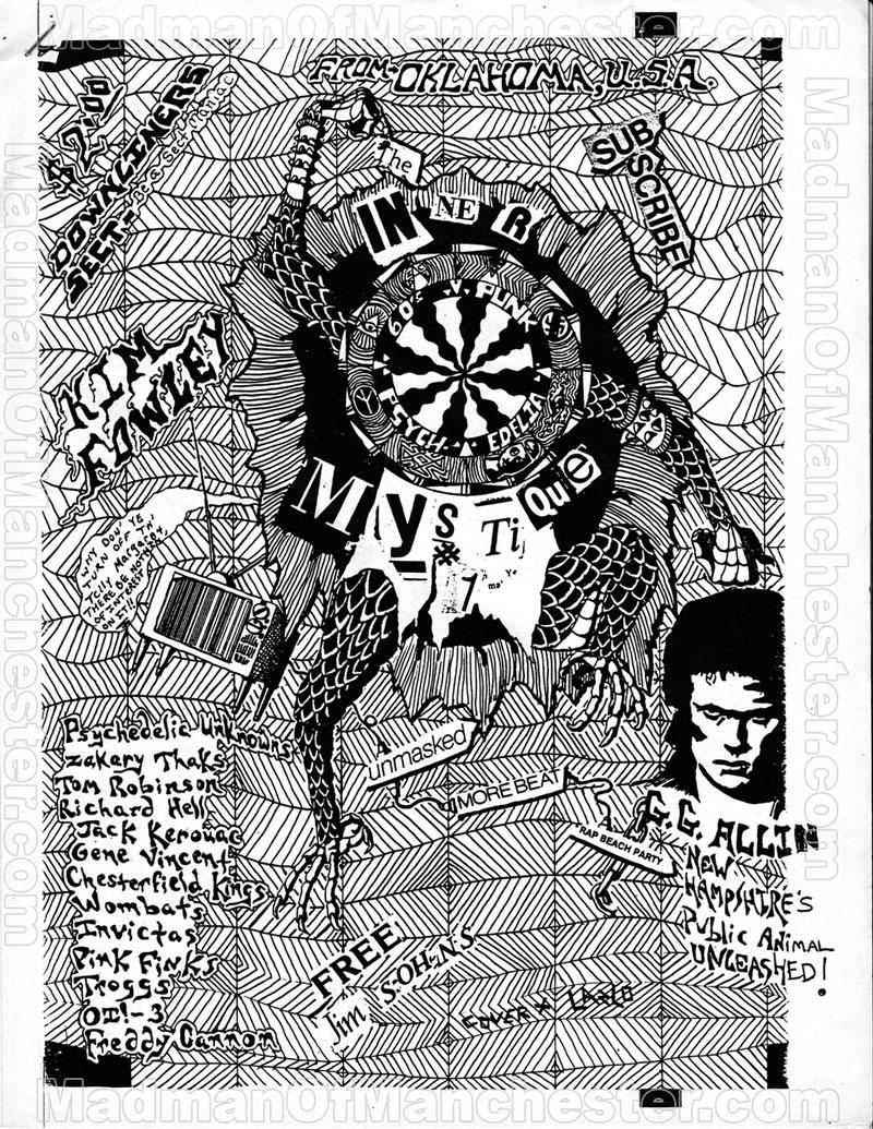 GG Allin Inner Mystique magazine